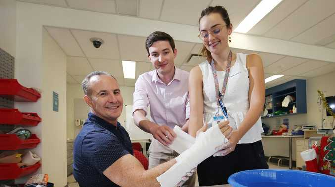 Junior doctors are taking on Ninja Warrior-style challenge