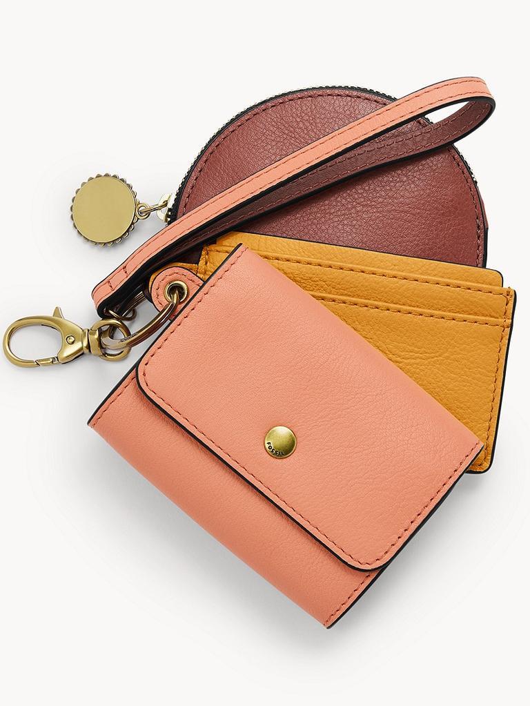 Fossil 3-in-1 wallet set
