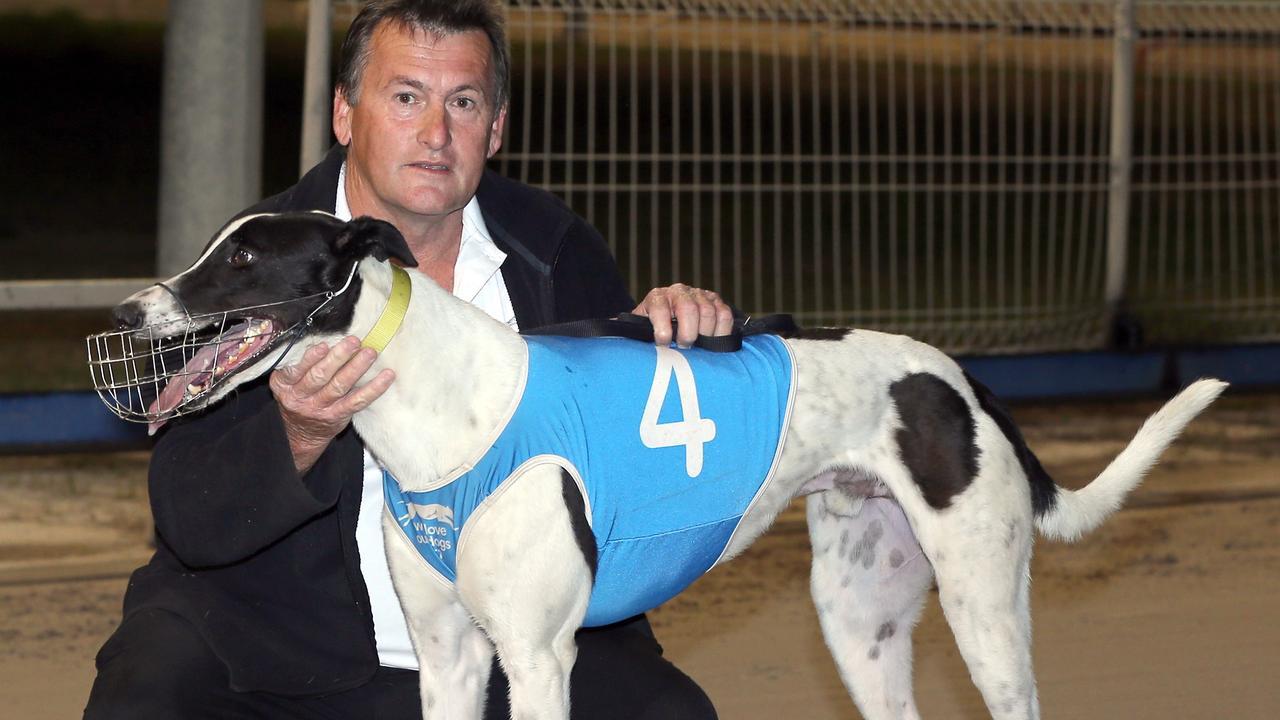 Trainer Peter O'Reilly. Picture: justgreyhoundphotos.com.au