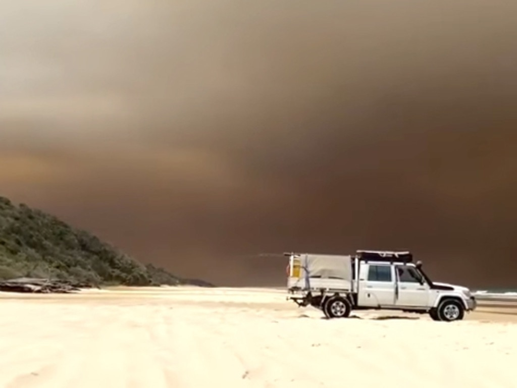 Happy Valley on Fraser Island. Picture: Facebook