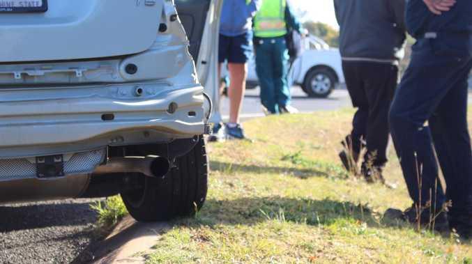 BREAKING: Multi-car collision blocks CBD traffic