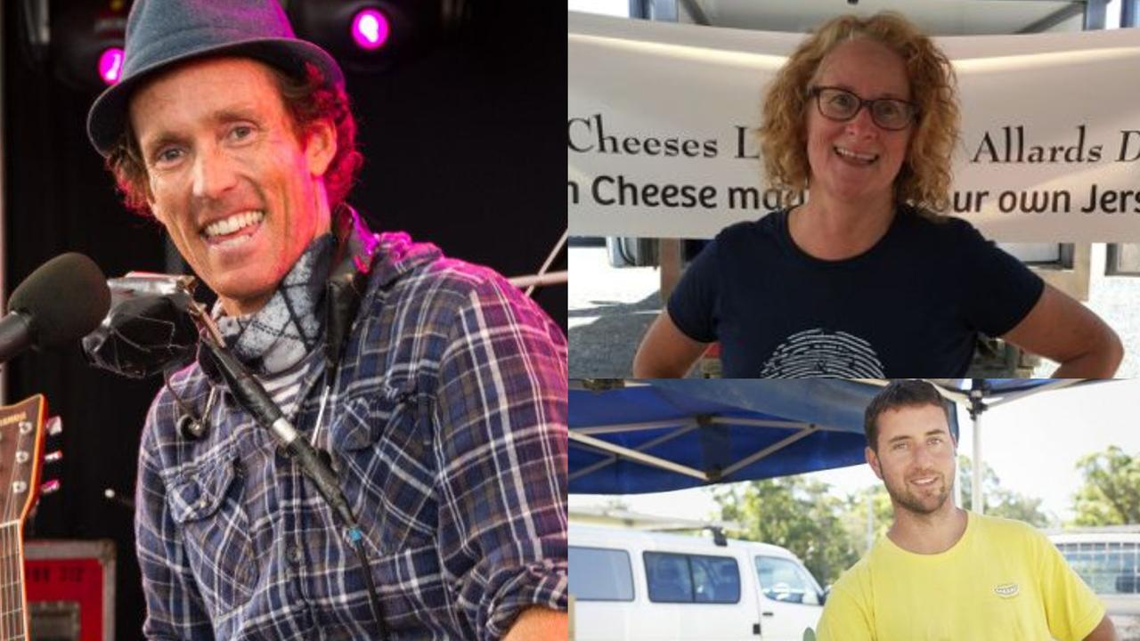These are just some of the faces you will see at the new farmer's market launching in the Tweed.