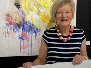 Mackay artist's win highlight of colourful career