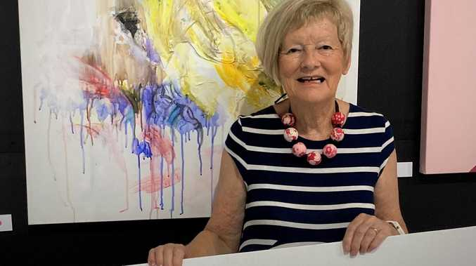 Mackay artist's win highlight of colourful career