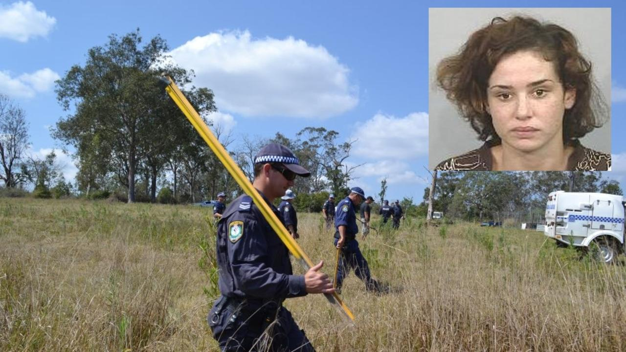 Police searched a property at Clarenza in 2013 as part of their investigations into Jasmine Morris' disappearance, however nothing was found.