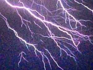 Lightning strikes believed to have started 23 fires