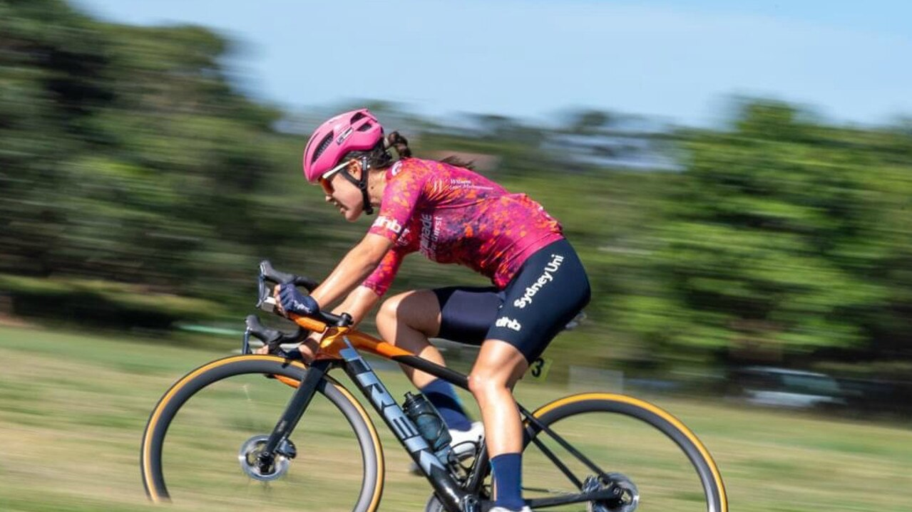 MAIDEN WIN: Gina Ricardo, (Sydney Uni-Staminade) 26, took out her first road win when she claimed victory on day 5 of the National Road Series on the Tweed in 2;48:41 on December 2, 2020.