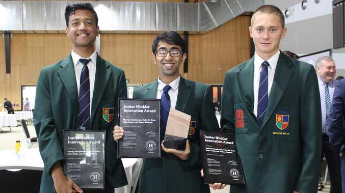 Young innovators recognised for project to stop poverty