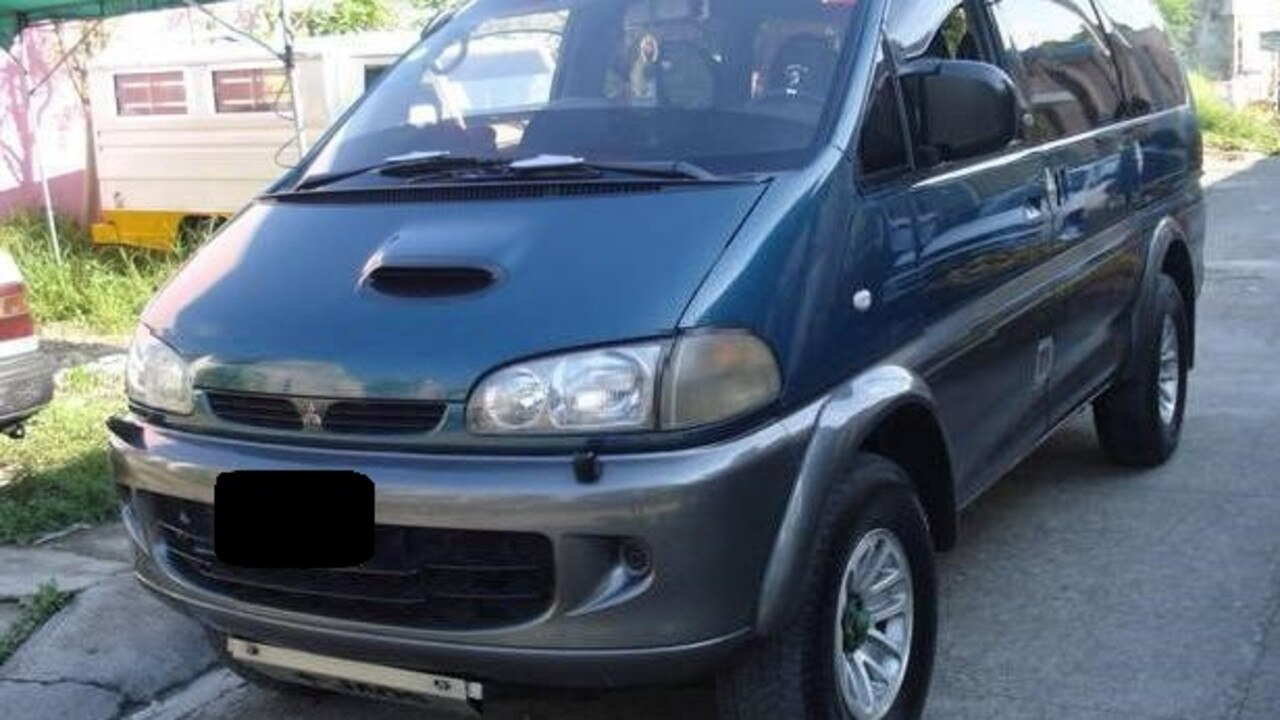 NSW Police have released this image of a late 1990s model Mitsubishi Delica L400, believed to be involved in the death of Mullumbimby man, Tim Watkins.