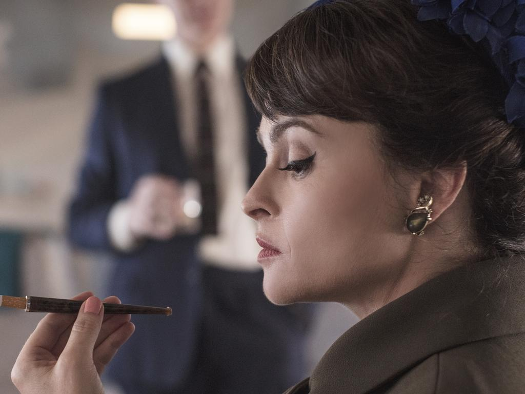 Helena Bonham Carter in a scene from season three of the TV series The Crown. Supplied by Netflix.