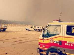 Fraser inferno sparks call for military 'grunt'