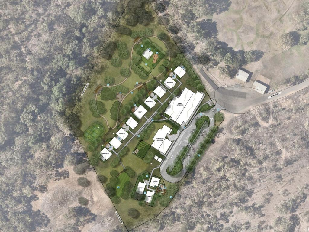 Design render of the $14.5 million facility.