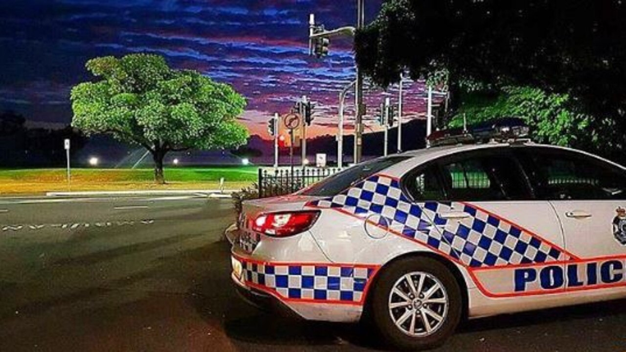 A Gladstone teen quickly changed route when he saw a police car.