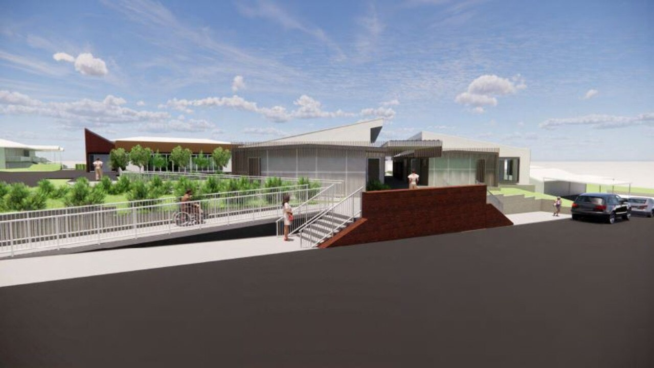 An artist's impression of the new facilities at St Peter Claver College.