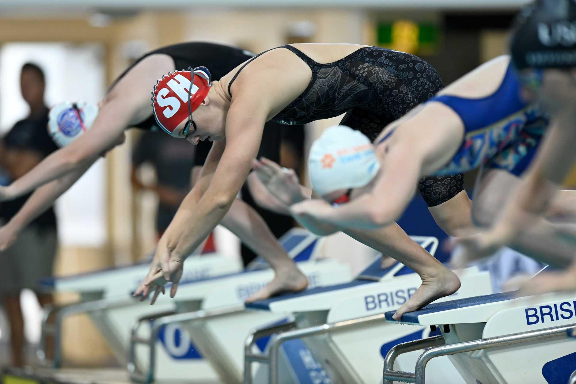 Madeleine McTernan set a new world record during the Australian Virtual Short Course Swimming Championships recently.  (Photo by Bradley Kanaris Photography/Bradley Kanaris)