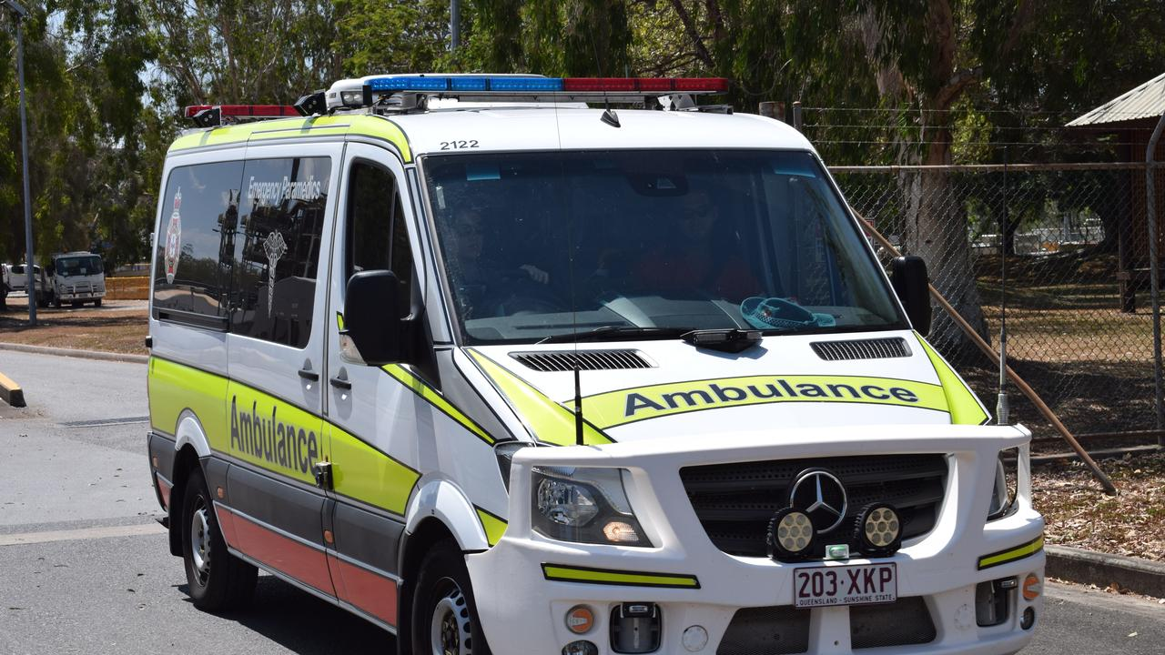 Queensland Ambulance Service paramedics were called to a North Rockhampton business on Friday morning to assist workers after a chemical spill.