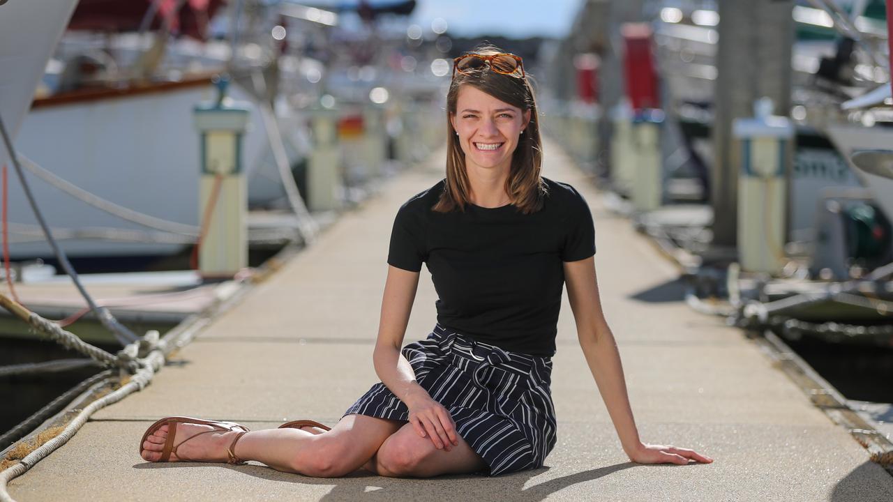 Jessica Watson. Picture: Alex Coppel