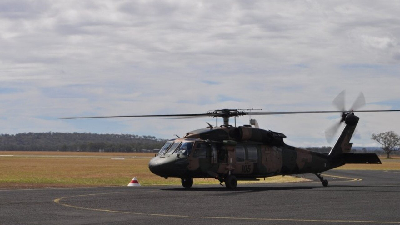 Emergency services have responded to a chemical spill at the Oakey Army Aviation Centre.