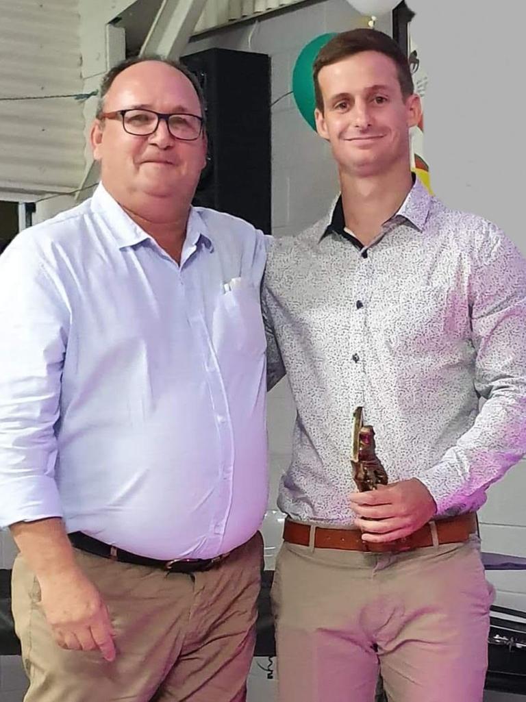 BITS FC 1st Div Men Best and Fairest Daniel Hansford.
