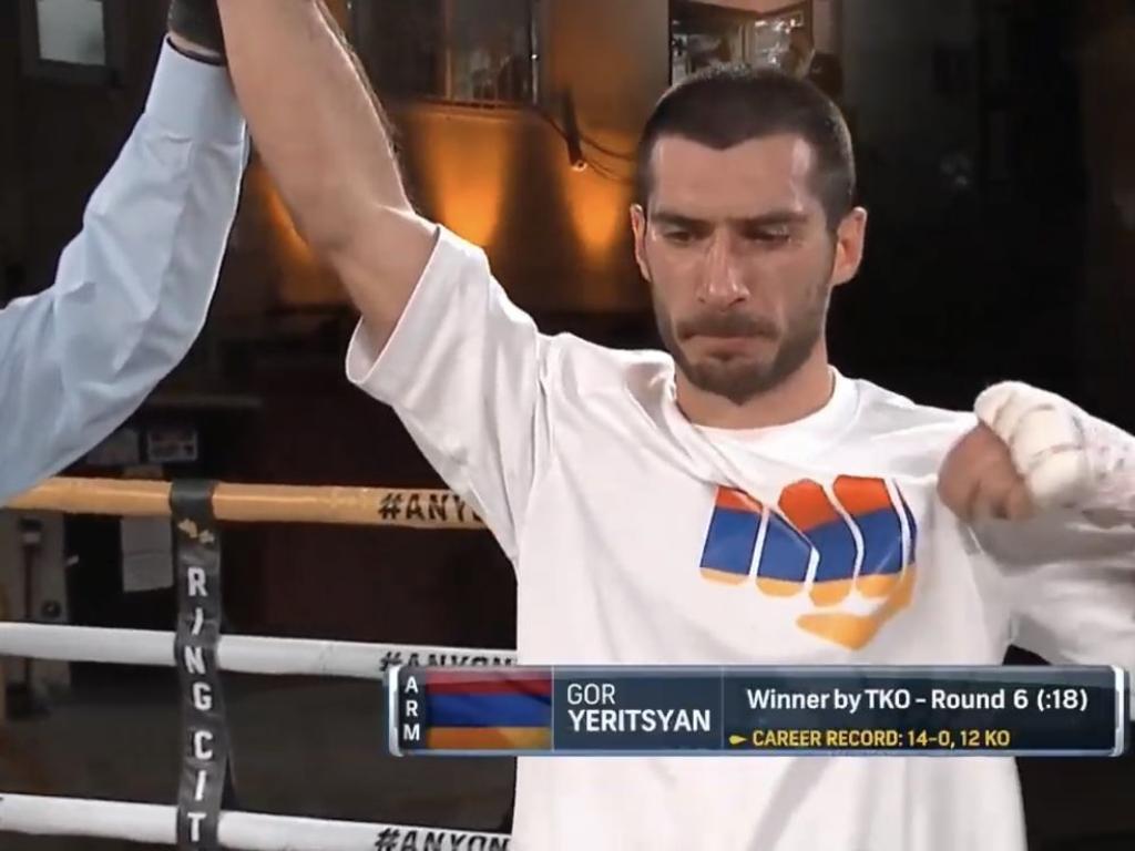 Gor Yeritsyan destroyed Mahonri Montes.