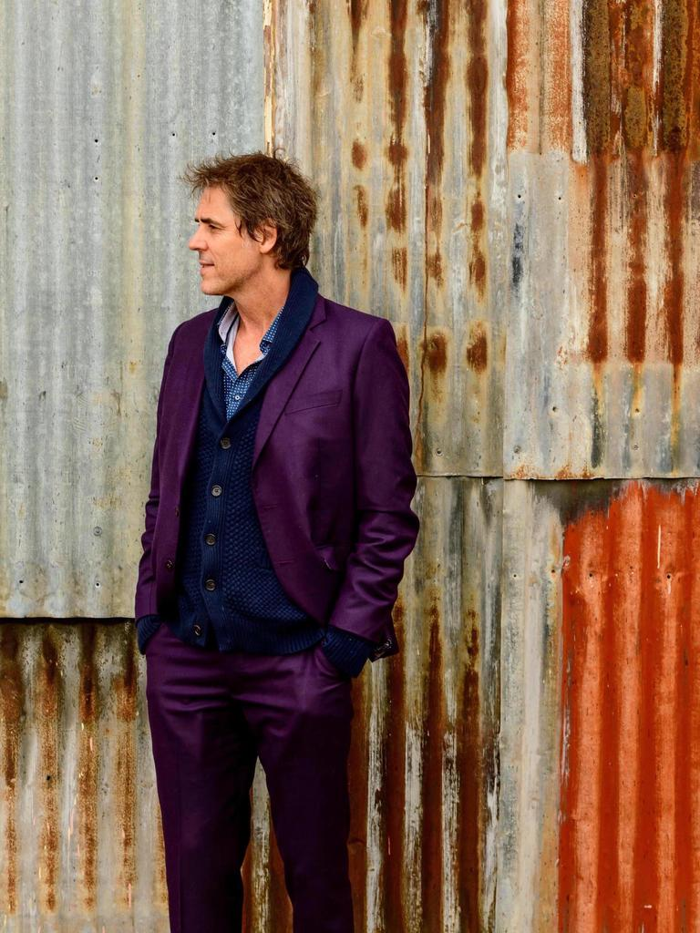The Whitlams' Tim Freedman will launch the band's new song, The Ballad of Bertie Kidd, at Ipswich this month. Picture: Scott Gelston