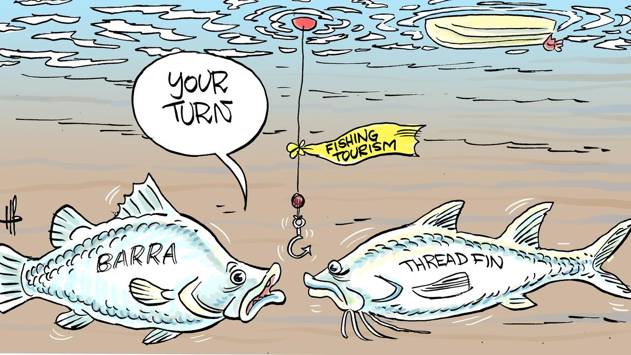 Harry Bruce's view on Rockhampton's newest fishing competition.