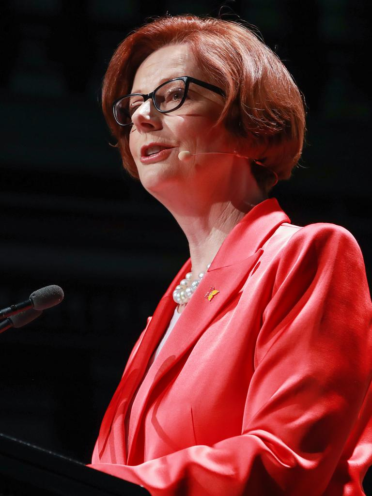 Former Prime Minister Julia Gillard actually understood the electorate. Picture: Justin Lloyd