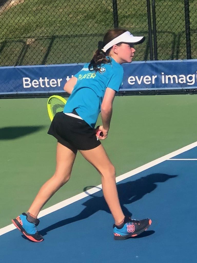 Caloundra tennis player Milly Bonassi (12)
