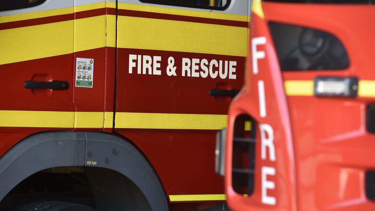 Firefighters put out a fire in a shop in Toogoolawah on Thursday night.