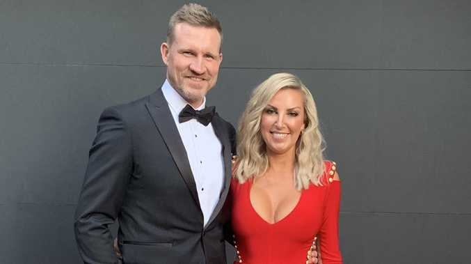 Nathan Buckley confirms shock split from wife Tania