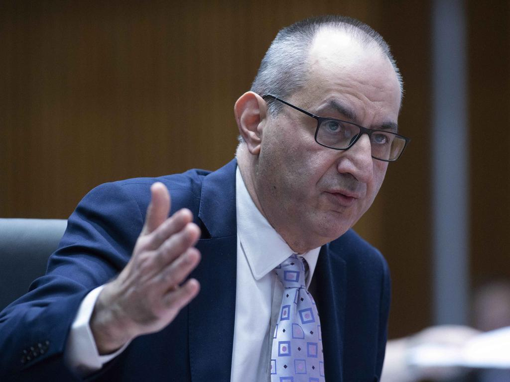Home Affairs secretary Mike Pezzullo warned deradicalisation was 'very complex psychology'. Picture: NCA NewsWire / Gary Ramage