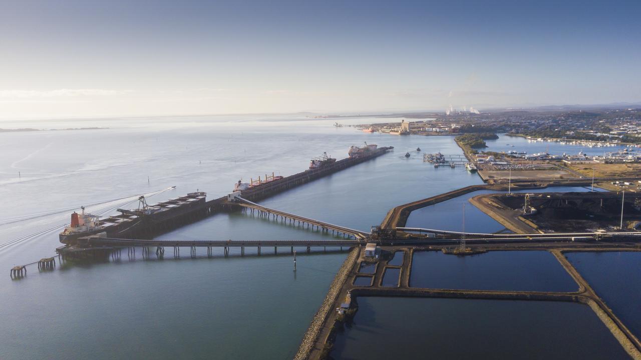 Gladstone port.