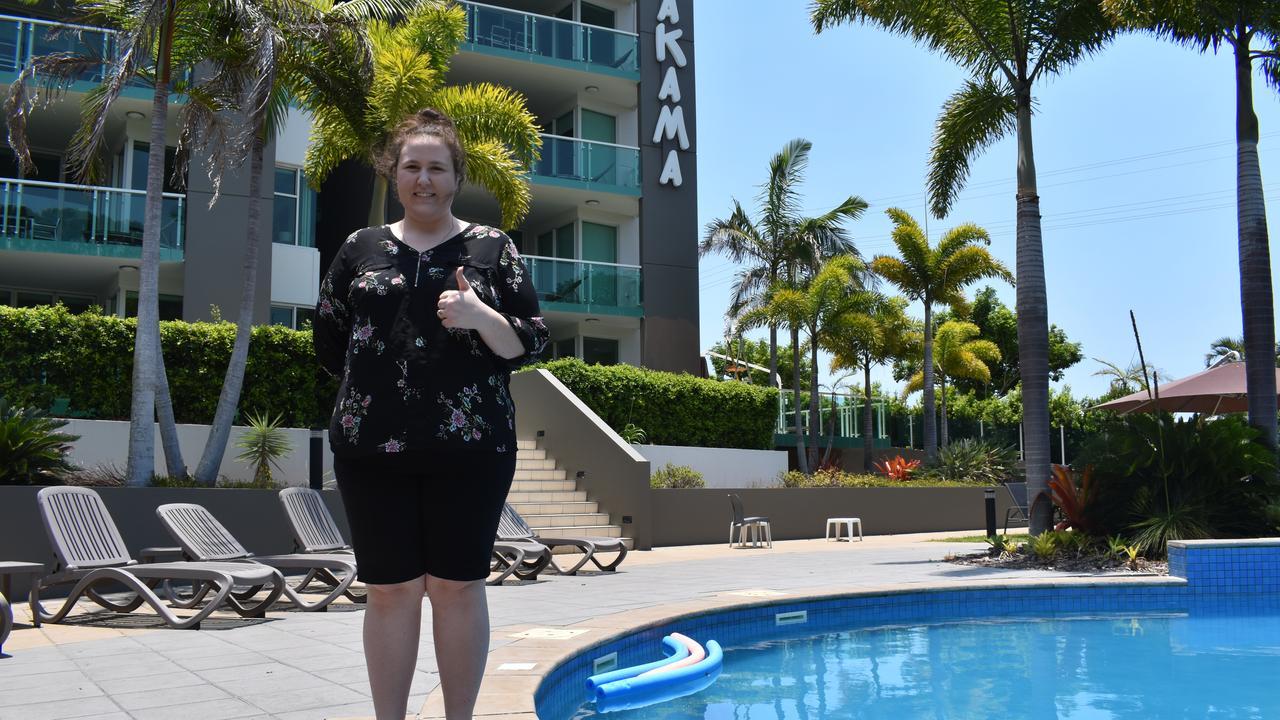 Dana Baggett from the Akama Resort in Urangan. Photo: Stuart Fast