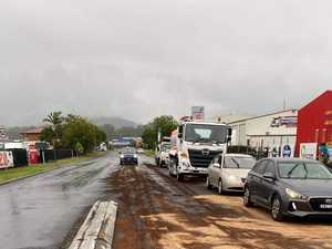 Massive oil spill causes traffic angst in Coffs