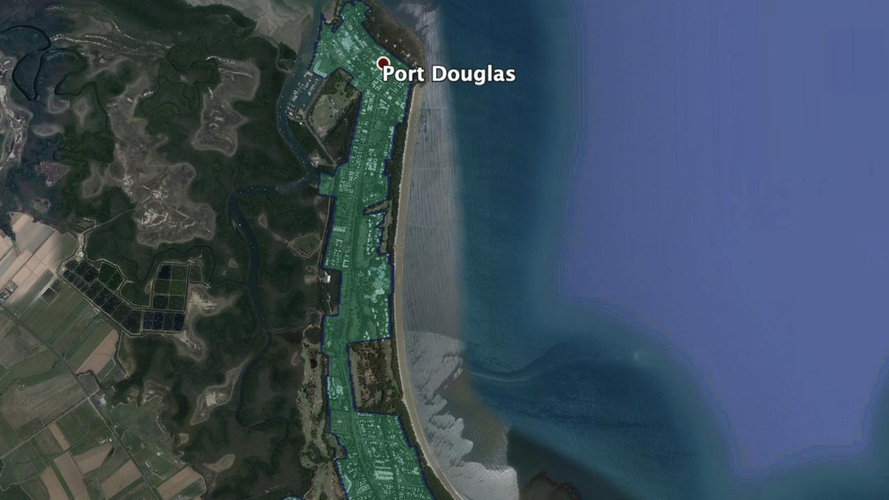 The Port Douglas area NBN Business Fibre Fibre Zone.