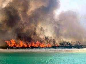 Fraser Island fires were 'time bomb' waiting to happen