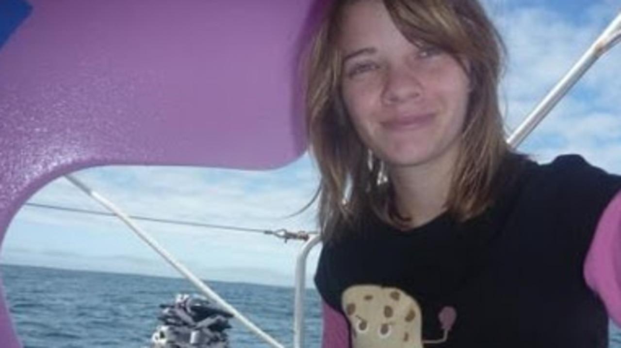 Jess Watson, at sea at 16.