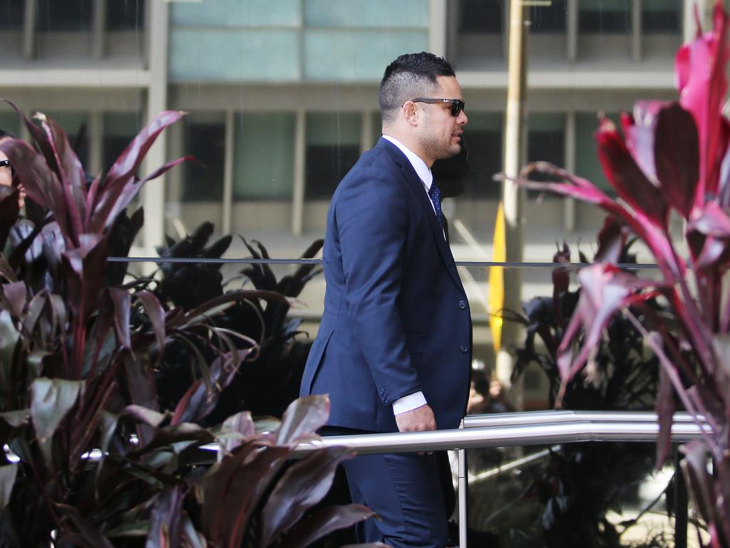Jarryd Hayne denies the woman's allegations. Picture NCA NewsWire / Peter Lorimer
