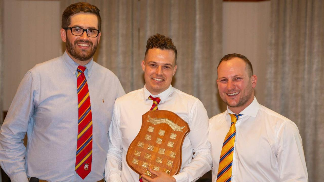 Gladstone Rugby Union Football Club Goats 2020 Best and Fairest – Ben Edwards