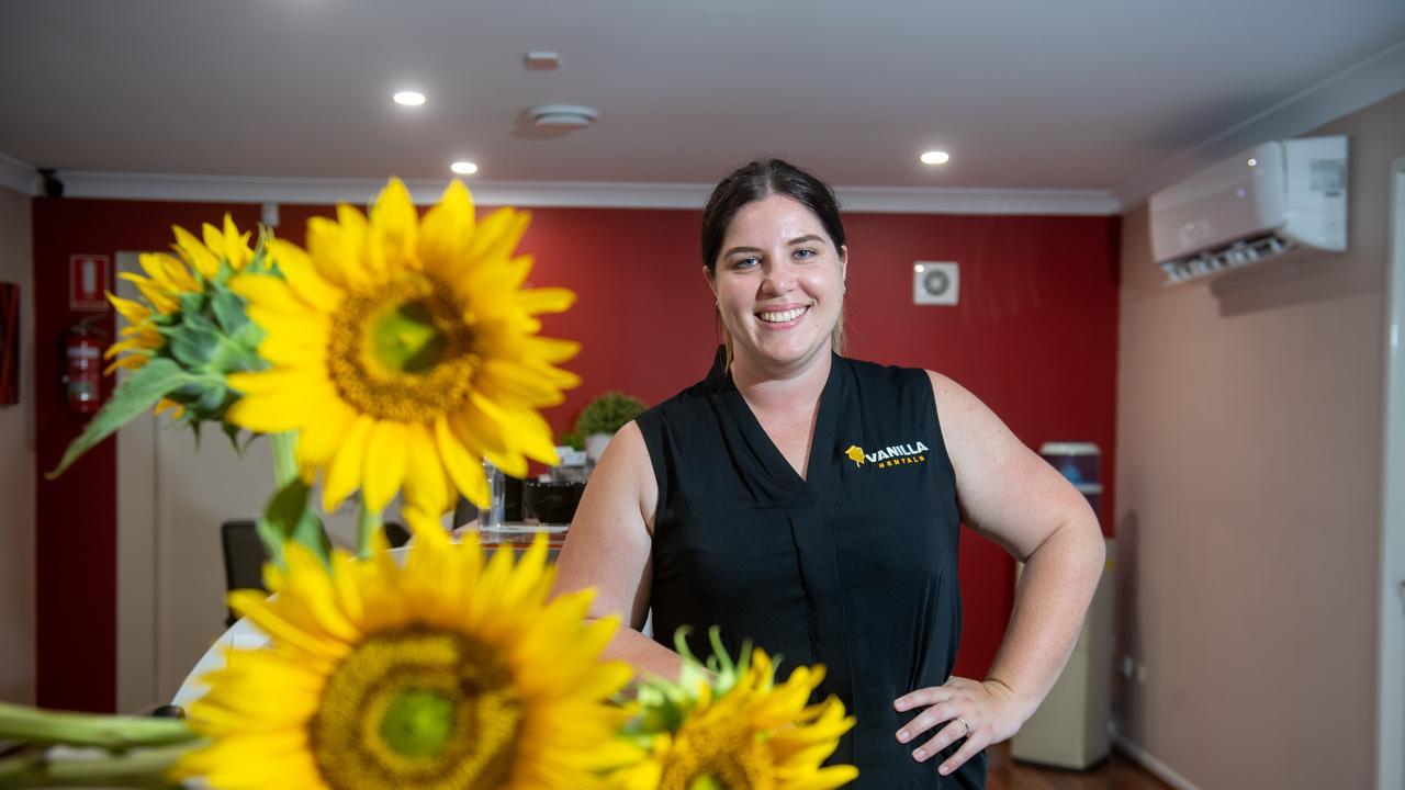 Vanilla Rentals property manager Jemma Wood. Photo: Ali Kuchel
