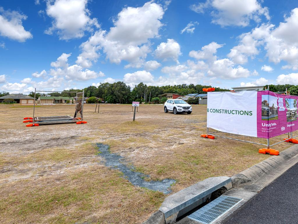 The new Uniting Yamba retirement village site.