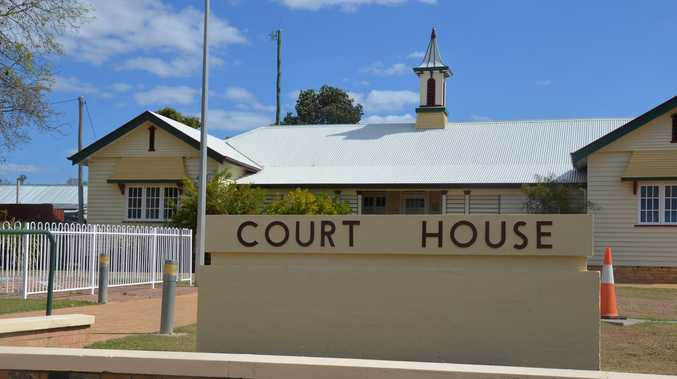 Everyone appearing in Gayndah Magistrates Court today