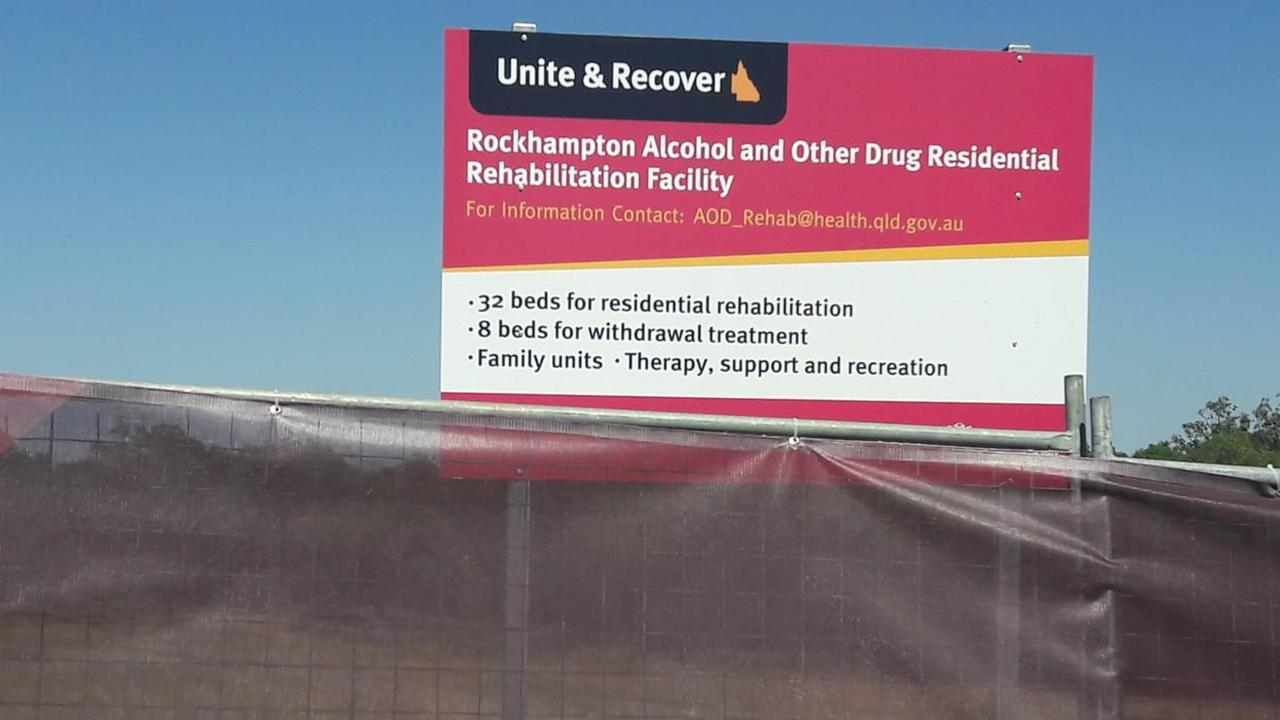 Work has begun on building Rockhampton's Alcohol and other Drug Rehabilitation Centre behind the old Music Bowl site in Parkhurst. Picture: Contributed
