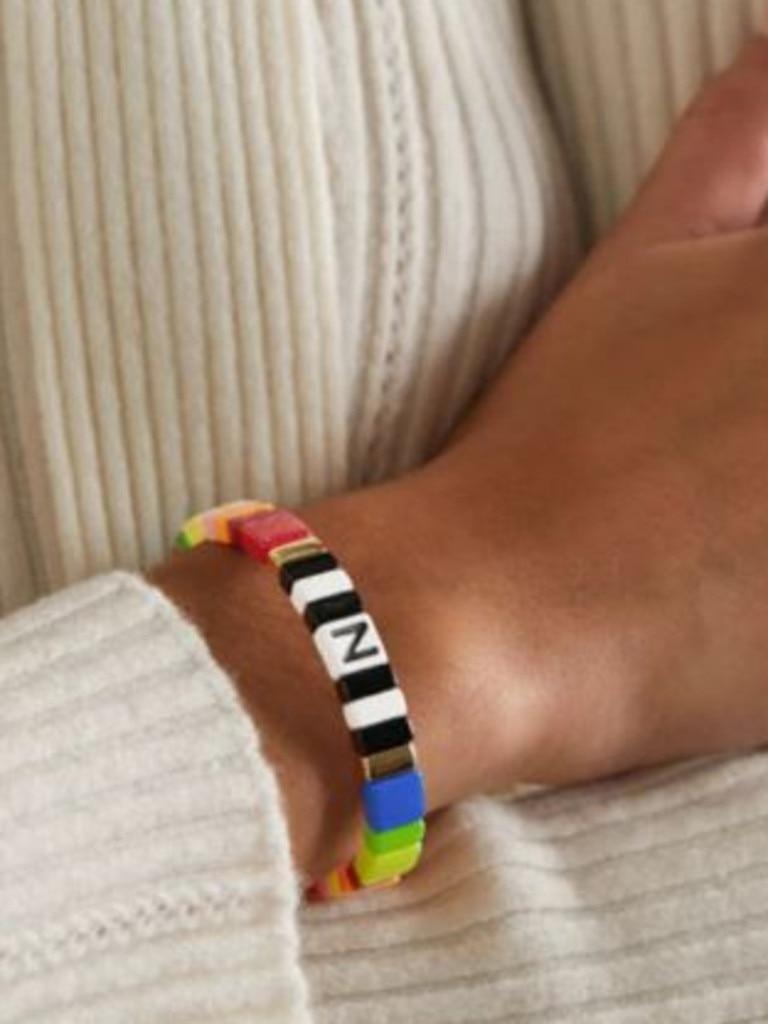 Roxanne Assoulin enamel bracelet $116 via NET-A-PORTER