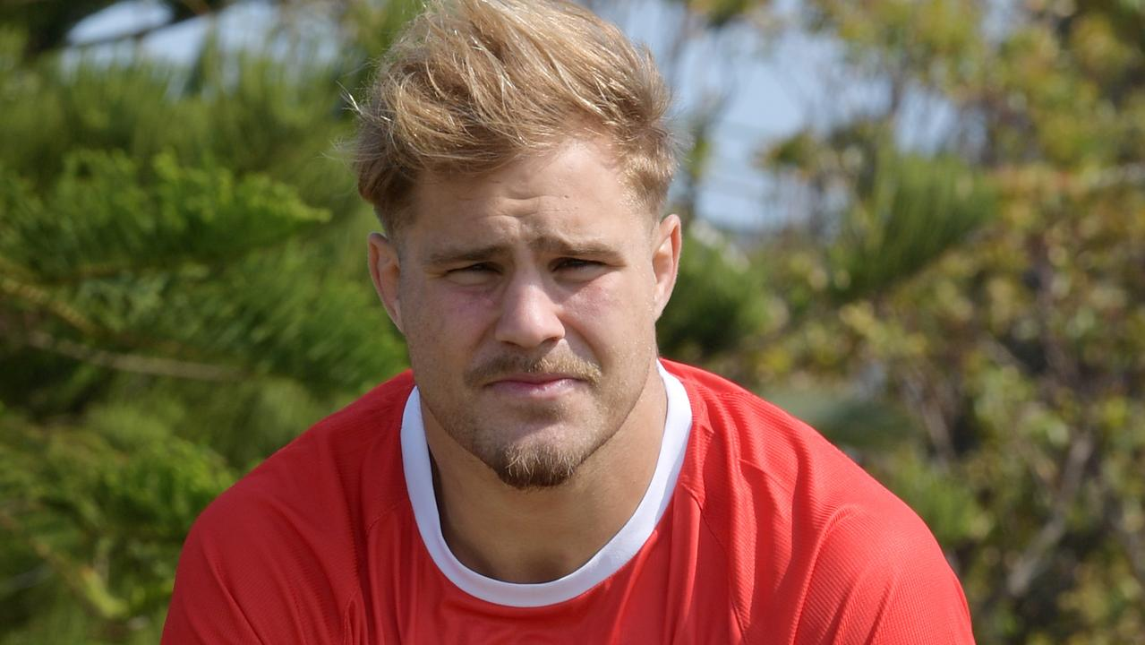Jack de Belin had surgery to remove testicular cancer ahead of his trial