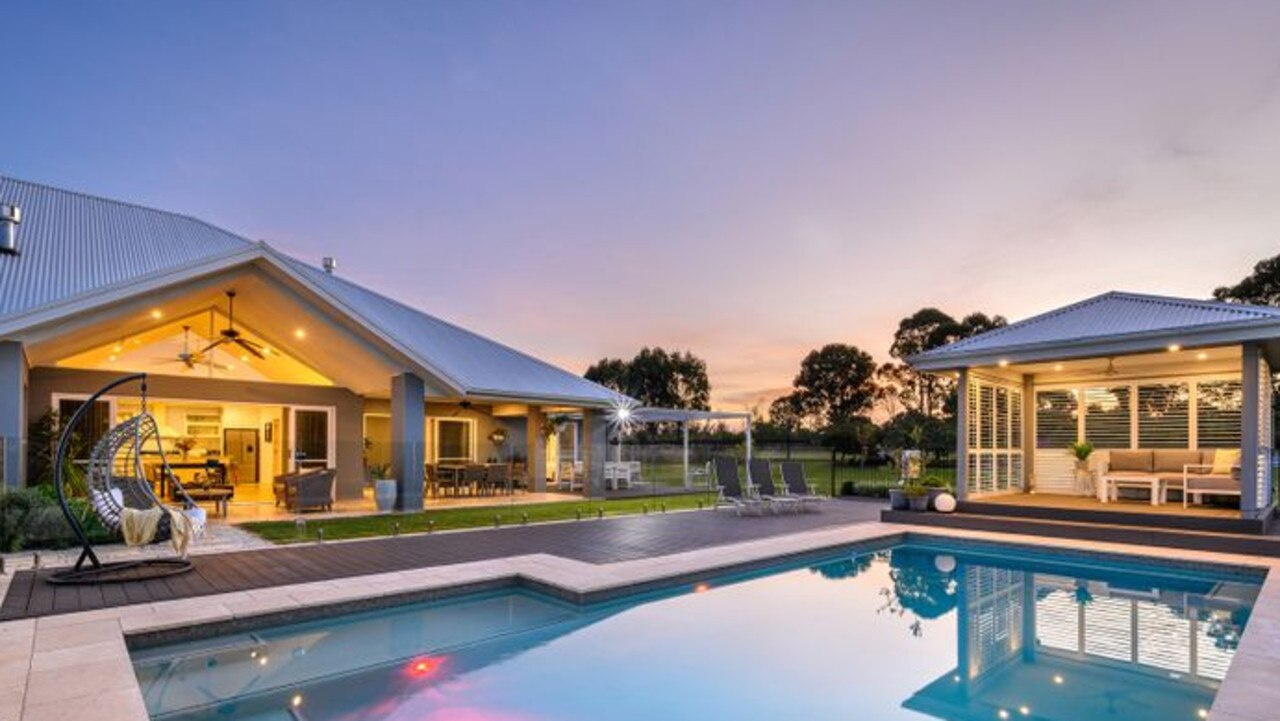 This stunning Luddenham property earned as much as $400,000 more than it could have if it was sold 'off market'. Picture: Supplied