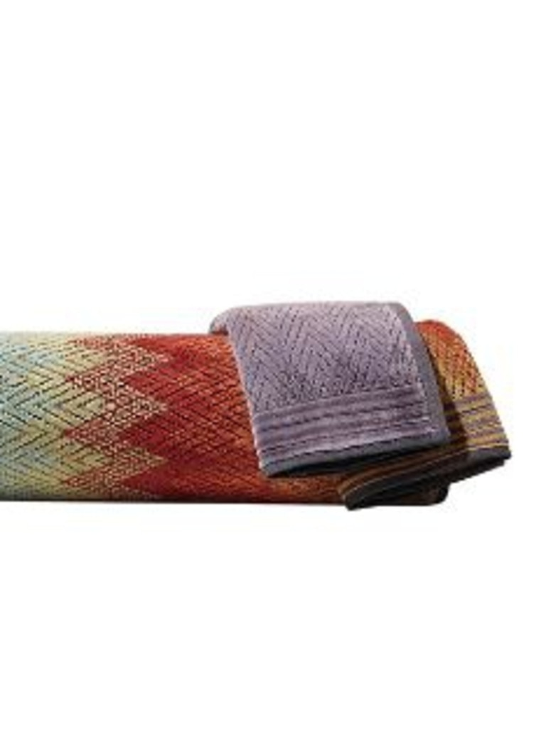 Missoni towels.