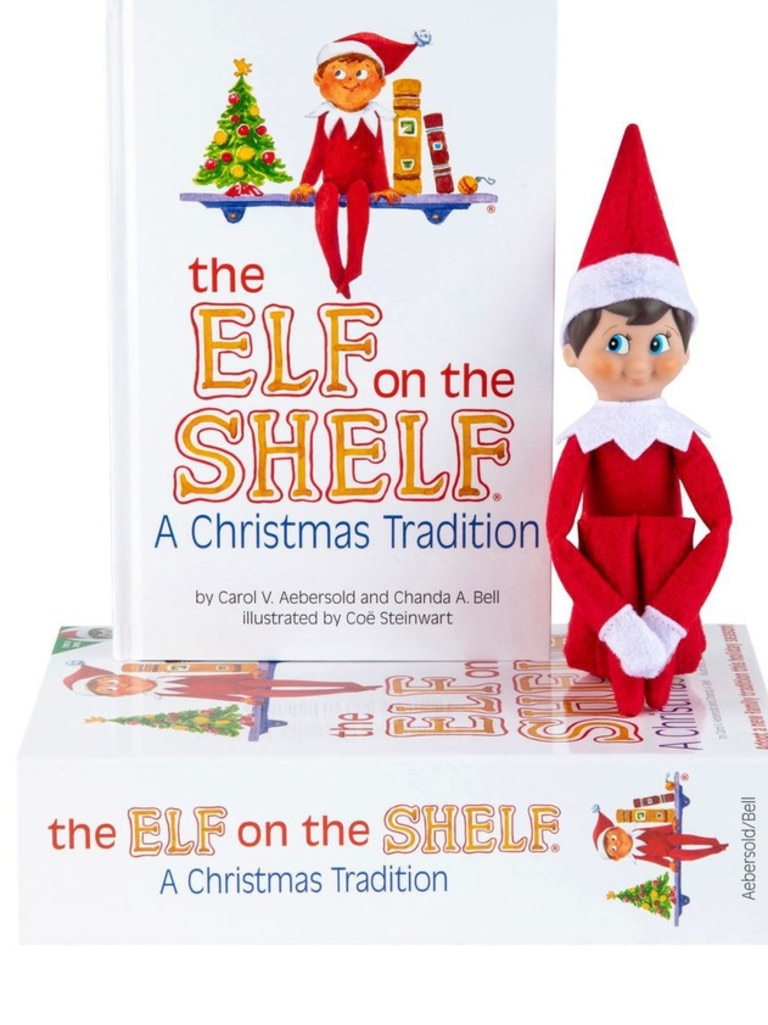 He's red-y! The Elf on The Shelf. Picture: Myer