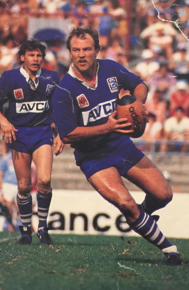 Wally Lewis during his time with Valleys. Picture: Supplied
