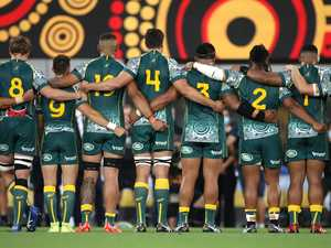 Historic anthem: Wallabies take society forward